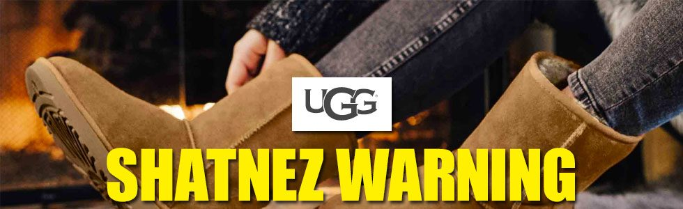 UGG! There is a new Shatnez alert.