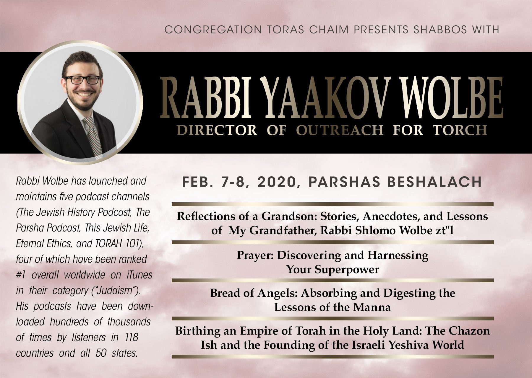 A Shabbos with Rabbi Yaakov Wolbe