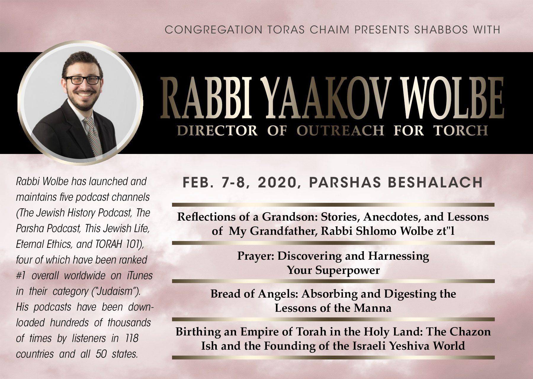 A Shabbos with Rabbi Yaakov Wolbe